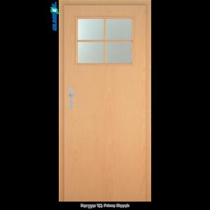 Интериорна врата Natura 1/3 стъкло Primo Beech