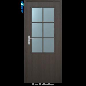 Интериорна врата Natura 2/3 стъкло Iridium Wenge