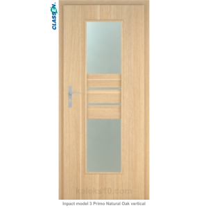 Интериорна врата Inpact model 3 Primo Natural Oak vertical